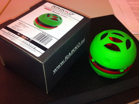 iPad/iPhone-Lautsprecher: Dance Vacuum Speaker