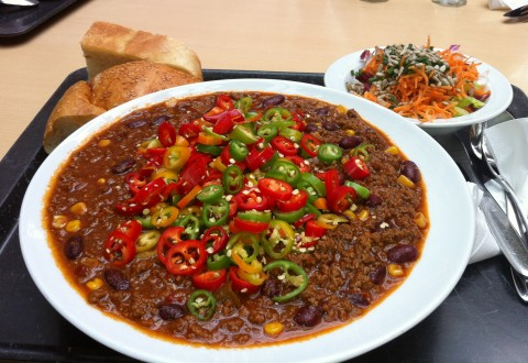 Chili con Carne in unserer Kantine